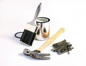 Home Improvement Tools --- Image by © Royalty-Free/Corbis